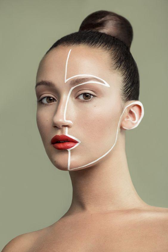 línea de arte ;15 Maquillajes para olvidarte del clásico disfraz brujita y llenarte de color