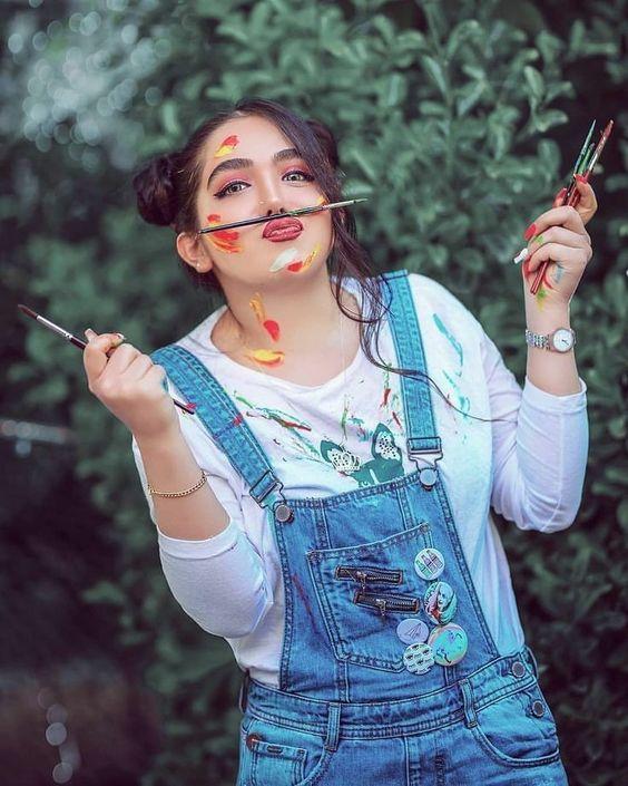 pintor ;15 Maquillajes para olvidarte del clásico disfraz brujita y llenarte de color