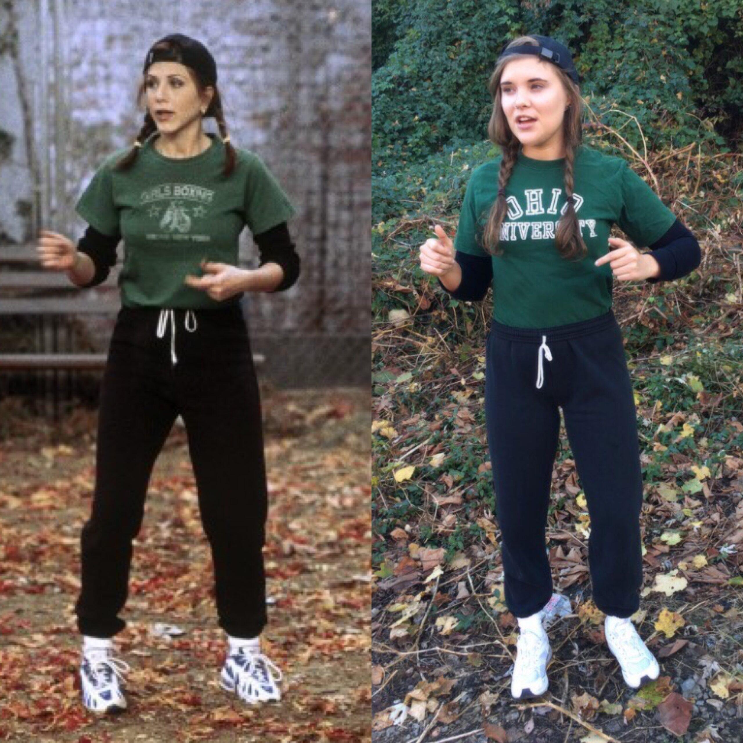 Rachel ;15 Increíbles disfraces que puedes lograr con tu ropa de gym