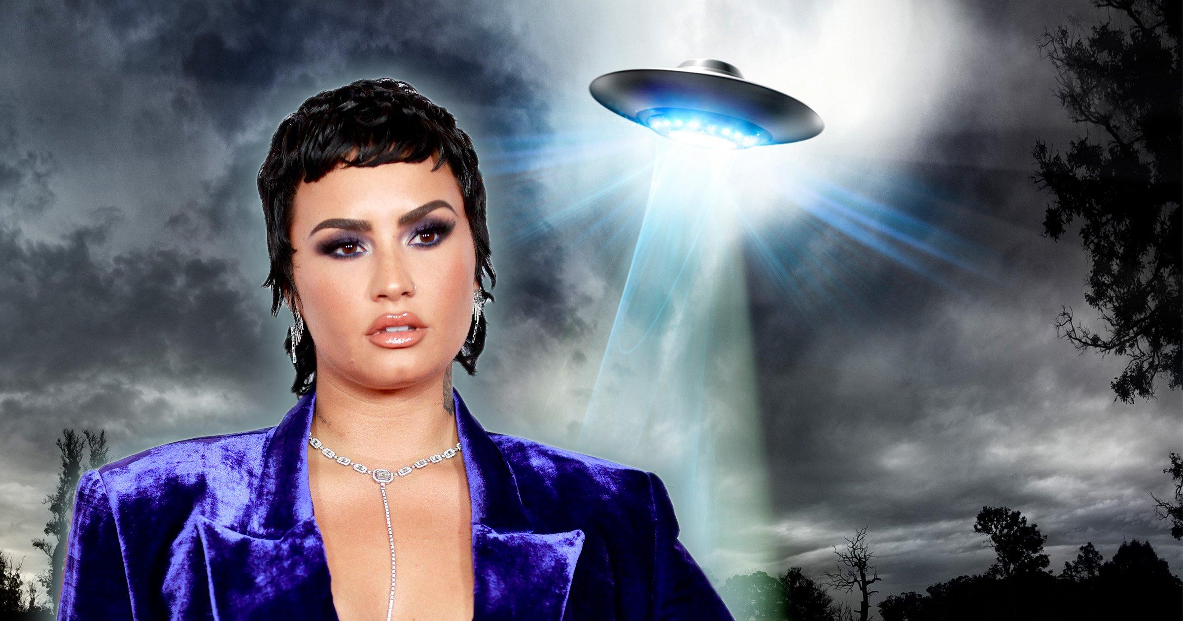Demi Lovato; Demi Lovato levanta polémica al decirque llamar 'aliens' a los extraterrestres es 'despectivo'