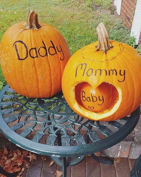 Calabazas decorativas ;18 Ideas para celebrar tu baby shower en Halloween