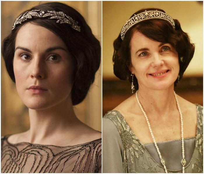 Lady Mary y Cora en Downton Abbey