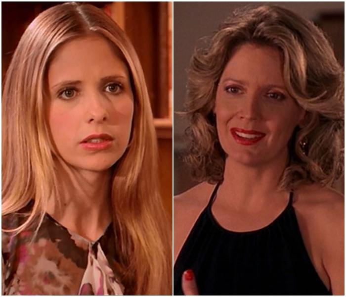 Buffy y Joyce en Buffy The Vampire Slayer