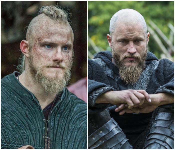 Bjorn y Ragnar en Vikings